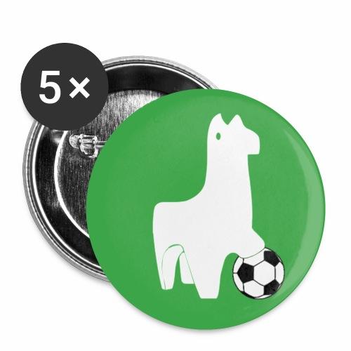Nouveau logo - Lot de 5 petits badges (25 mm)