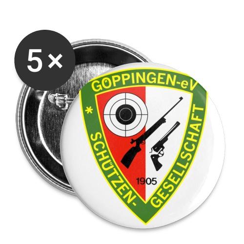 sg gp aufdruck farbig - Buttons klein 25 mm (5er Pack)