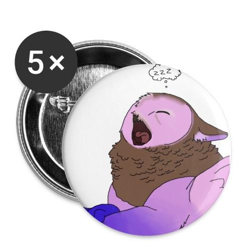 Nyx Esprits dans le vent3 - Lot de 5 petits badges (25 mm)