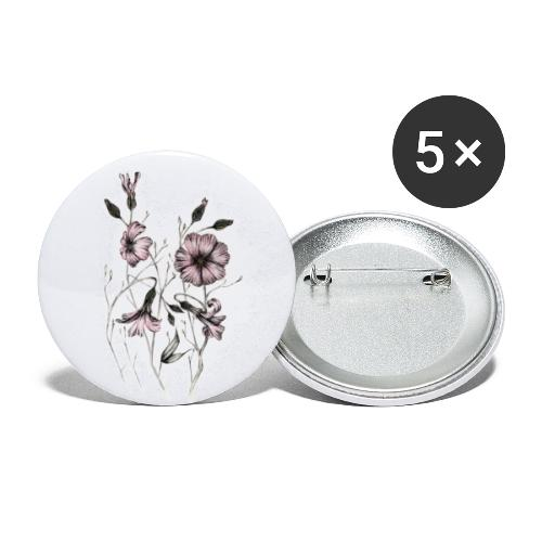 Saponaria - Buttons klein 25 mm (5er Pack)