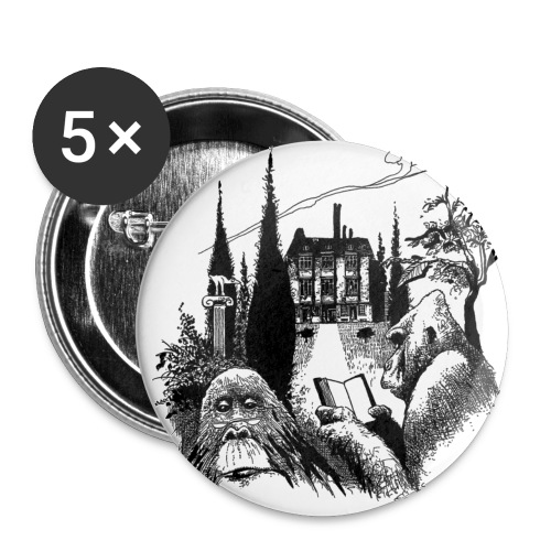 klokeaper 2 - Liten pin 25 mm (5-er pakke)