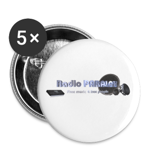 Radio PARALAX Facebook-Logo - Buttons klein 25 mm