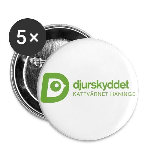 KV tryck png - Små knappar 25 mm (5-pack)
