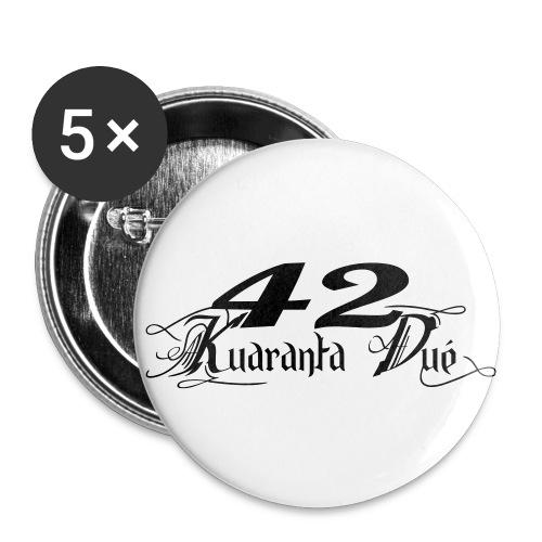 LOGO KD CLASSIK - Lot de 5 petits badges (25 mm)