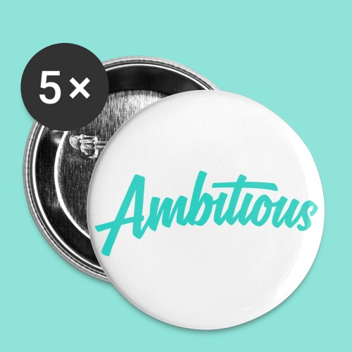 Ambitious - Buttons klein 25 mm (5-pack)