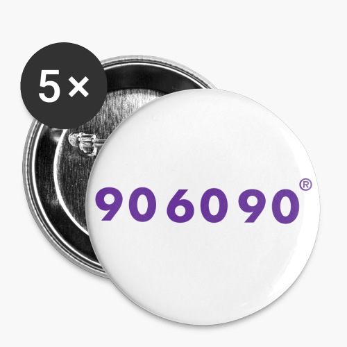 906090 - Buttons klein 25 mm (5er Pack)
