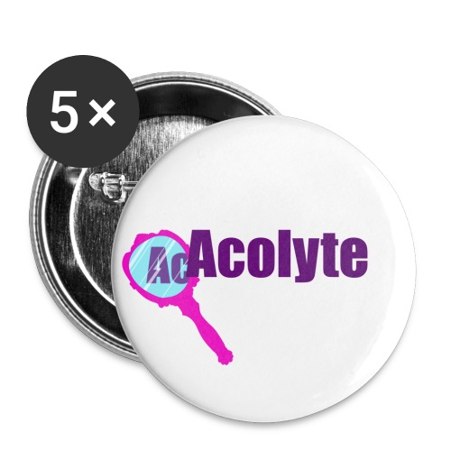 Acolyte light - Buttons small 1''/25 mm (5-pack)