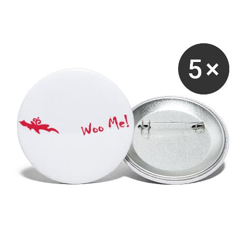 Woo Me 2 - Buttons klein 25 mm (5er Pack)