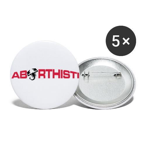 abarthisti no url - Liten pin 25 mm (5-er pakke)