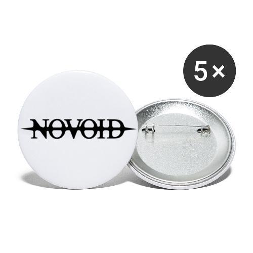 NOVOID - Buttons klein 25 mm (5er Pack)