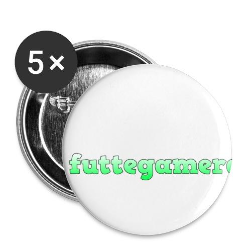 futtegamerdk trøjer badge og covers - Buttons/Badges lille, 25 mm (5-pack)