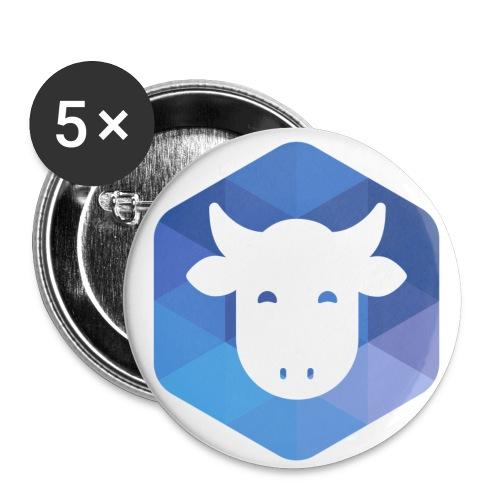 AFUP Limoges - Lot de 5 petits badges (25 mm)