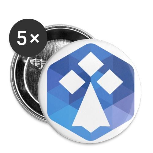 AFUP Rennes - Lot de 5 petits badges (25 mm)