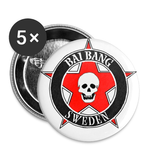 tryckdesign - Buttons small 1''/25 mm (5-pack)