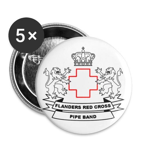 logo zwart PNG - Buttons klein 25 mm (5-pack)