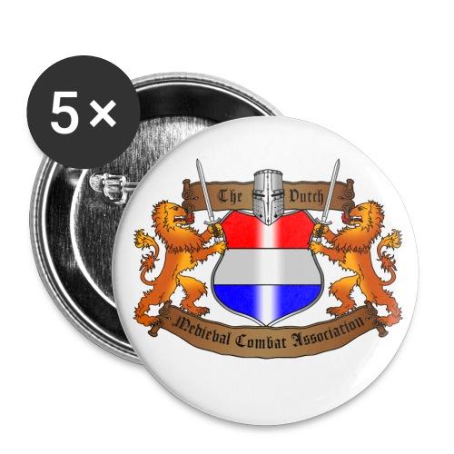 tdmca-logo - Buttons klein 25 mm (5-pack)