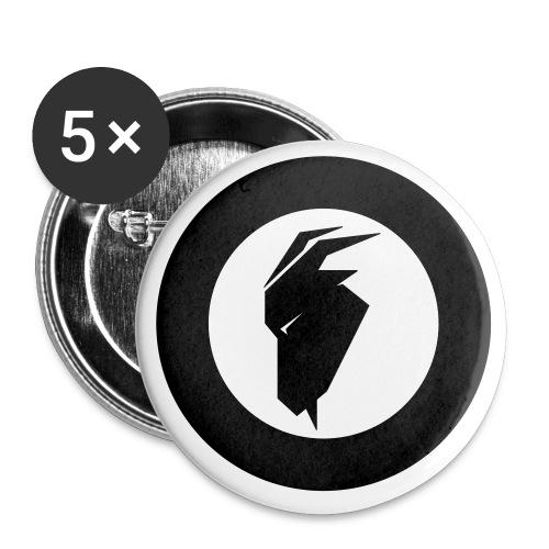 fjellgeiteneno symbol - Liten pin 25 mm (5-er pakke)