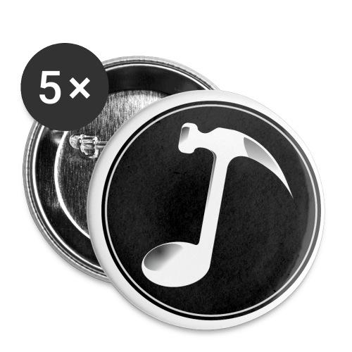 Mark The Hammer Logo - Confezione da 5 spille piccole (25 mm)