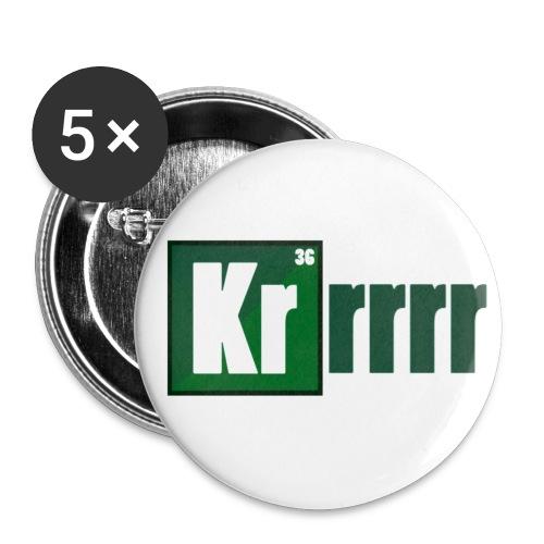 Krrrypton - Buttons klein 25 mm (5er Pack)