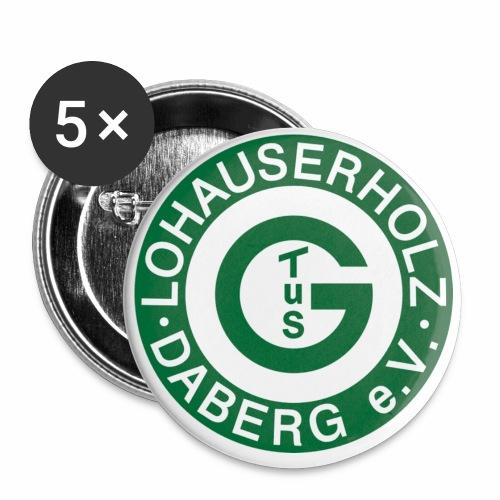TuS Logo 2016 Transparent png - Buttons klein 25 mm (5er Pack)