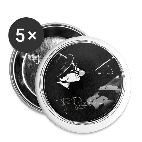 Francesco Baccini - Confezione da 5 spille piccole (25 mm)