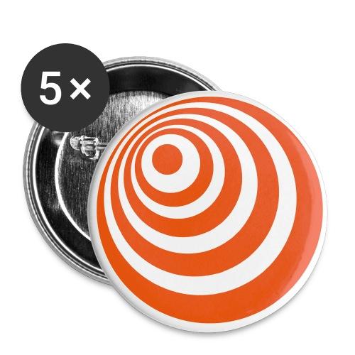 trompete spreadshirt - Buttons klein 25 mm (5er Pack)