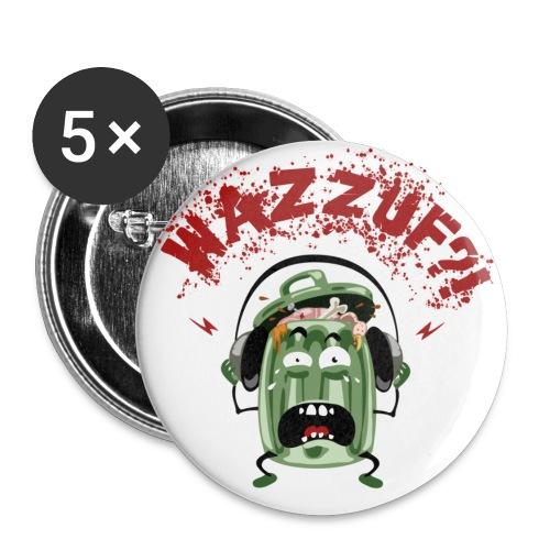 poubellefondclair - Lot de 5 petits badges (25 mm)