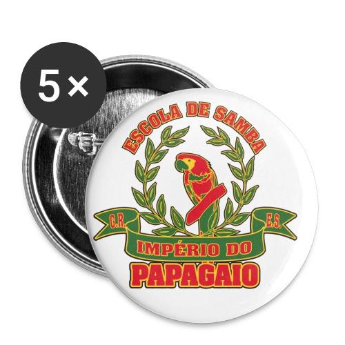 Papagaio logo - Rintamerkit pienet 25 mm (5kpl pakkauksessa)