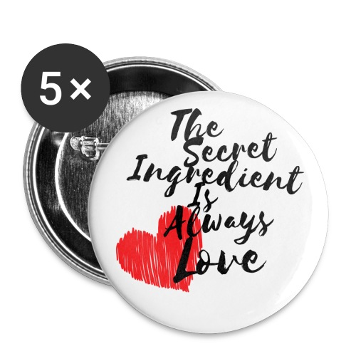 Secret Ingredient - Buttons small 1''/25 mm (5-pack)