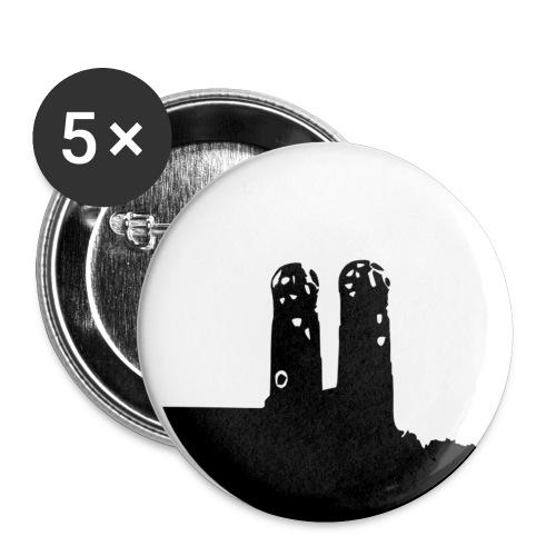 Button Munich - espanolaenmunich.com - Paquete de 5 chapas pequeñas (25 mm)
