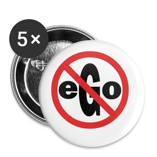 Ego is too big - Lot de 5 petits badges (25 mm)
