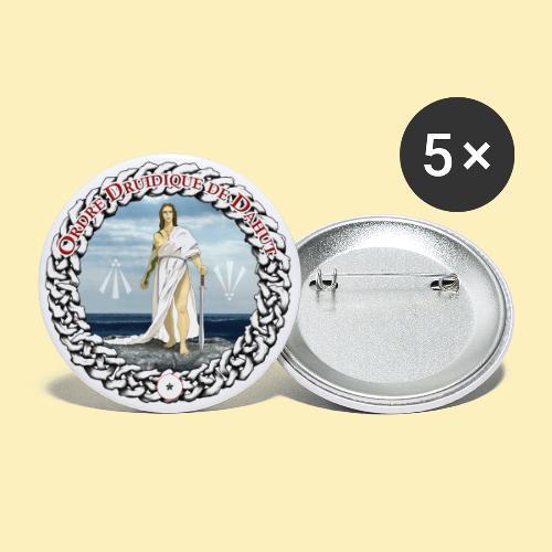 Ordre Druidique de Dahut Logo - Lot de 5 petits badges (25 mm)