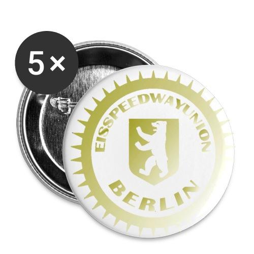 Logo klein ESU gold - Buttons klein 25 mm