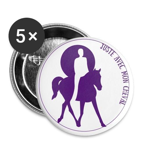 badges - Lot de 5 petits badges (25 mm)