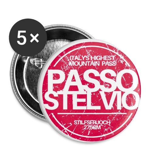 STAMP - Buttons klein 25 mm (5er Pack)