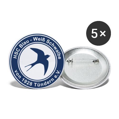 Classic Logo - Buttons klein 25 mm (5er Pack)