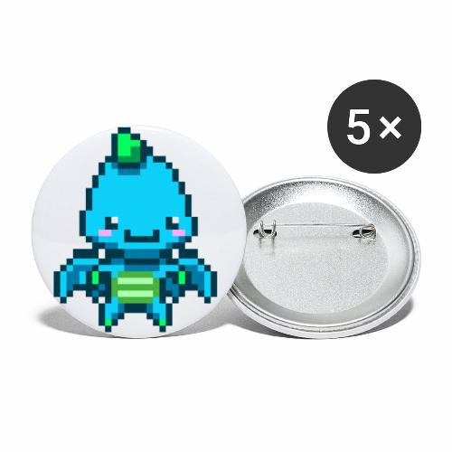 JEHD Platformer 1 - Buttons small 1''/25 mm (5-pack)
