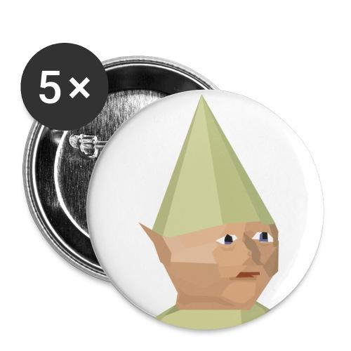 Gnome child - Liten pin 25 mm (5-er pakke)