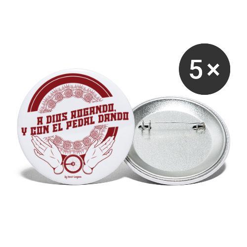 A DIOS ROGANDO - Paquete de 5 chapas pequeñas (25 mm)