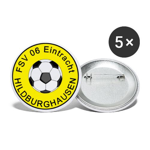 Hildburghausen FSV 06 Club Tradition - Buttons klein 25 mm (5er Pack)
