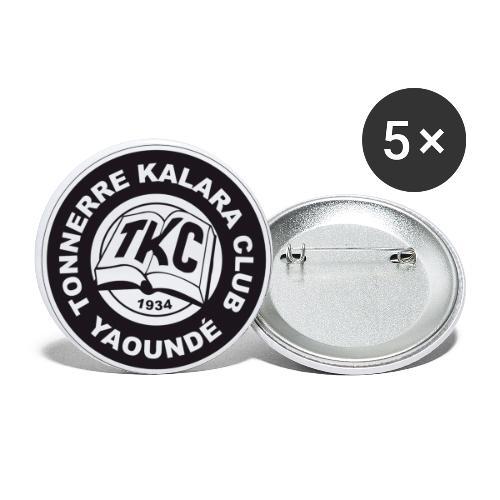 TKC Original - Lot de 5 petits badges (25 mm)