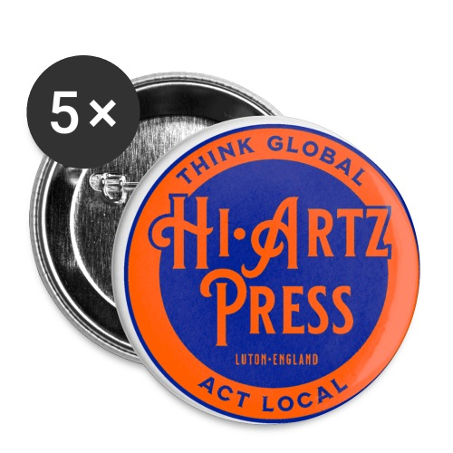 haplogoltfc2 - Buttons small 1''/25 mm (5-pack)