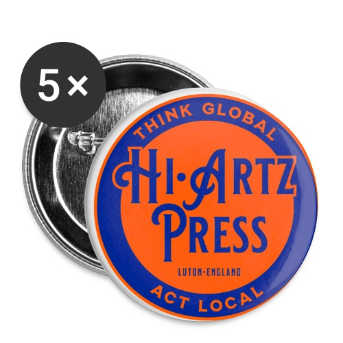 haplogoltfc - Buttons small 1''/25 mm (5-pack)