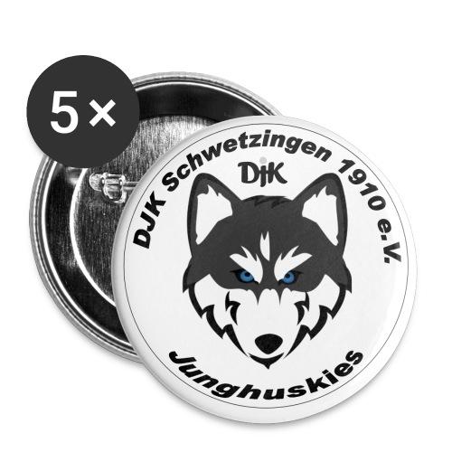 jungh logo - Buttons klein 25 mm (5er Pack)