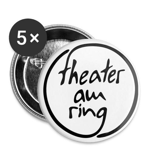 tar logo 1farbig fuellung - Buttons klein 25 mm (5er Pack)