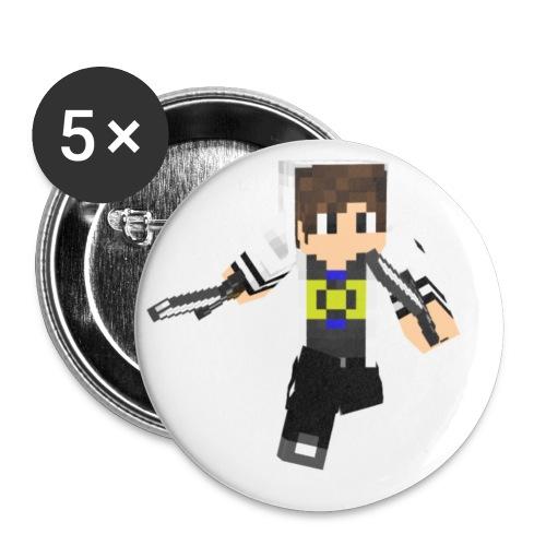 DAIKEN jpg - Buttons klein 25 mm (5er Pack)