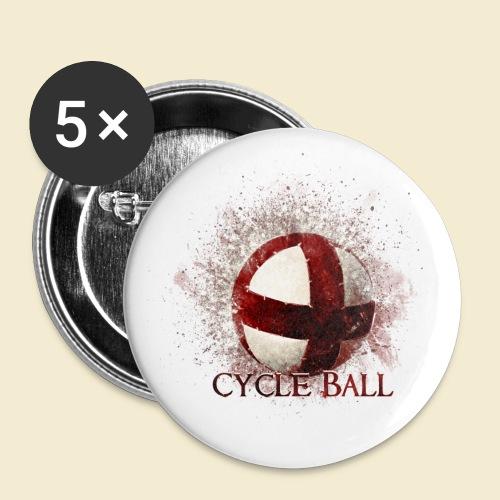Radball | Cycle Ball - Buttons klein 25 mm