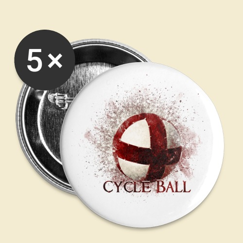 Radball | Cycle Ball - Buttons klein 25 mm