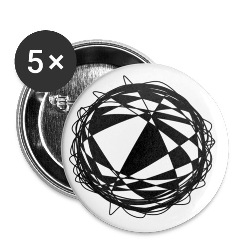 Orbit - Buttons small 1''/25 mm (5-pack)