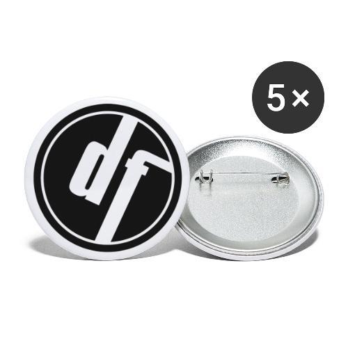 nur logo dysfunk jpg 300dpi - Buttons small 1''/25 mm (5-pack)